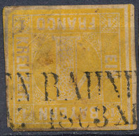 Stamp Bavaria 1862 1kr Used Lot6 - Beieren