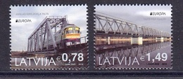 LATVIA 2018 EUROPA 2018 BRIDGES - 2018
