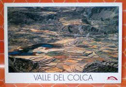 VALLE DEL COLCA AREQUIPA PERU   CARTOLINA - Perù