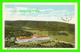 MACKINAC ISLAND, MI - GRAND HOTEL - TRAVEL  IN 1923 -  CURT TEICH & CO - - Etats-Unis