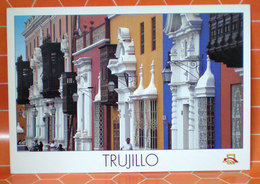 TRUJILLO PERU   CARTOLINA - Perù