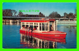 SHIPS - BATEAUX - PASSENGERS GLASS BOATS AT FLORIDA SILVER SPRINGS - TRAVEL IN 1985 - - Commerce
