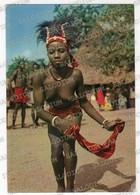 SENEGAL - Afrique En Couleurs - Ragazza Girl Nude Dance Dancing - Storia Postale Par Avion Africa - Senegal