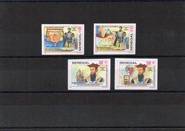 SENEGAL / 1997 NAVIGATEUR VASCO DE GAMA Superbe Série 4 Valeurs MNH Cote + De 9.00 Vente 2.30 Euros - Exploradores