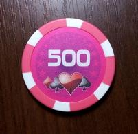 POKER CASINO 500 CHIP TOKEN FISH FICHES CHIPS JETON - Casino