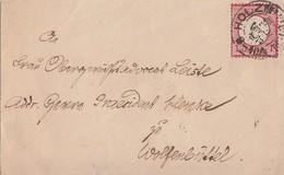 DR Brief EF Minr.19 K2 Holzminden Gel. Nach Wolfenbüttel - Briefe U. Dokumente