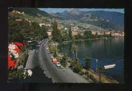 Suiza. VD. Clarens. *Le Quai Et Vue Sur Montreux* Ed. Jaeger Nº 876. Nueva. - VD Vaud