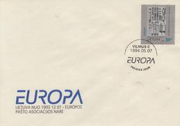 Enveloppe  FDC  1er  Jour   LITUANIE    EUROPA   1994 - Europa-CEPT
