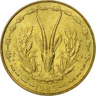 Monnaie, West African States, 5 Francs, 1985, Paris, SUP - Côte-d'Ivoire
