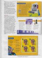 GB 1999; Stamp Chess Ajedrez  ; Turing Stamp Booklet - 1952-.... (Elizabeth II)