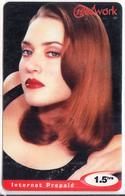 MAURITIUS - Cinema, Holywwod/Nicole Kidman, Network Plus Prepaid Crard Rs.50(reverse 1), Mint - Maurice