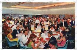 Home Lines - Oceanic All Italian Crew - Nave Ship Boat Restaurant - Storia Postale USA - Barche