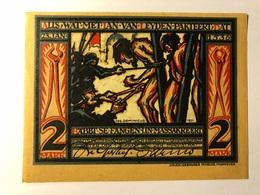 Allemagne Notgeld Munster 2 Mark - [ 3] 1918-1933 : République De Weimar