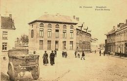 THOUROUT (Torhout) - Brugplaats / Place Du Bourg - Mooie Animatie - Uitg. Saya  - 1929 - Rare - Torhout
