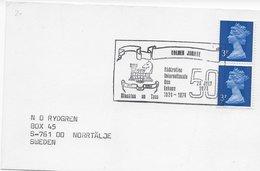 GB 1974 ; Stamp Chess Ajedrez  ; 50 Years Fide - 1952-.... (Elisabetta II)
