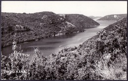 CROATIA - HRVATSKA - ISTRIA - LIMSKI  KANAL - 1966 - Croazia