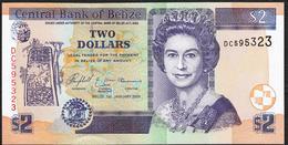 BELIZE : 2 Dollars - P66b - 2005 - UNC - Belize