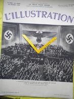 L'ILLUSTRATION No 4956- 26 Février 1938. Le Reichstag Acclame Hitler. Les Démolisseurs De Vitry-le-François. Le Pasteur. - Livres, BD, Revues
