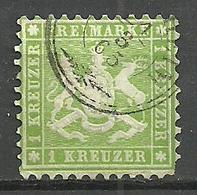 Württemberg, Nr. 25a, Gestempelt - Wurttemberg
