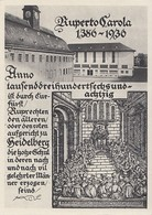 DR Privat-GS PP 126 C15 Postfrisch 550 Jahre Universität Heidelberg - Briefe U. Dokumente