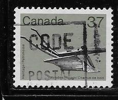 CANADA, 1983,  # 927, ARTIFACT: WOODEN PLOUGH    USED - 1952-.... Règne D'Elizabeth II