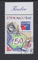 STAMP ON STAMPS TIMBRE SUR LES TIMBRES STAMP EXHIBITION Briefmarkenausstellung PHILEX FRANCE - MONACO  1999 MI 2457 - Philatelic Exhibitions