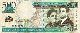 DOMINICAN REPUBLIC 500 PESOS DOMINICANOS 2011 P-186b UNC  [DO715a] - Dominicana