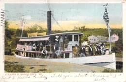 USA Etats-Unis ( ME MAINE ) Steamer In SONGO LOCK - CPA - BATEAU A VAPEUR Steamboat Dampfschiff Stoomboot - Etats-Unis