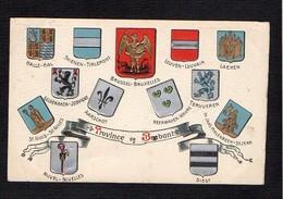 Belgique / Blasons,Armoiries,Ecussons De La Province De Brabant - Altri
