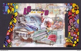 SPAIN 2017 Miniature Sheet. Generation Of The 70 - 2011-... Ungebraucht