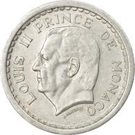 Monnaie, Monaco, Louis II, Franc, Undated (1943), Poissy, TTB, Aluminium - Monaco