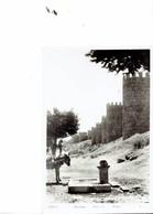 SPAIN  -VINTAGE POSTCARD - AVILA - MURALLAS  ENVIADA A BELGICA -  POS 7555 - Ávila