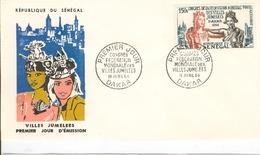 EnveloppePremier Jour  Congrès Mondiale Des Villes Jumelées  18  Avril 1964  DAKAR- République Du  Sénégal - Emissions Communes