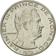 Monnaie, Monaco, Rainier III, Franc, 1979, TTB+, Nickel, Gadoury:MC 150, KM:140 - Monaco