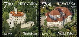 CROATIA 2017 Europa 2017 - Castles - Croacia