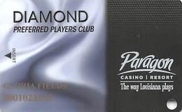 Paragon Casino - Marksville LA - Diamond Slot Card - Casino Cards