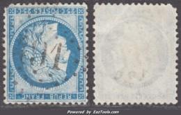 GC 491 (Blangy-du-Calvados / Blangy-le-Chateau (1875), Calvados (13)), Cote 9€ - 1849-1876: Classic Period