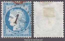 GC 1 (Abbeville, Somme (76)), Cote 33€ - Marcophilie (Timbres Détachés)