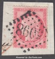 GC 5098 Smyrne Sur 80c Cérès (Y&T N° 57, Cote +++€) - Marcophily (detached Stamps)