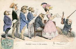 J J GRANDVILLE =  Animaux Humanisés  =  Concert - Andere Illustrators