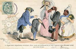 J J GRANDVILLE =  Animaux Humanisés  =  Médecine - Andere Illustrators