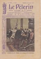 LE PELERIN 1914 26 Juillet  Casablanca Maroc, Revue De Longchamp, En Russie ... - Livres, BD, Revues