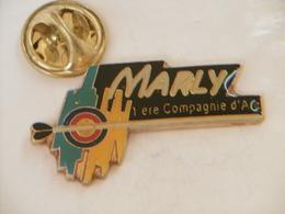 Pin's - Sport TIR à L'ARC à MARLY 1ère Compagnie D'Arc - 500 Exemplaires - Tir à L'Arc