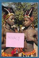 AFRIQUE EN COULEURS PETITES DANSEUSES AFRICAINES UNUSED - Cartoline