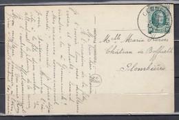 Postkaart Van Gemmenich Naar Plombieres - 1922-1927 Houyoux