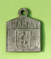 """Jeton De Taxe Sur Les Chiens """"Année 1924 - Brabant"""" Médaille De Chien - Professionnels / De Société"""