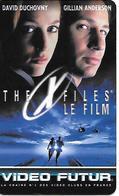CARTE-VIDEO FUTUR-N°59-THE X FILES-TBE - Frankrijk