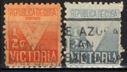 CUBA - 1942 - SIMBOLO DELLA VITTORIA - USATI - Segnatasse
