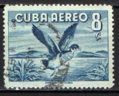 CUBA - 1956 - ANATRA - USATO - Posta Aerea