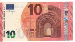 10 EURO  'France'   DRAGHI    U 004 C2      UB1100261261  /  FDS - UNC - EURO